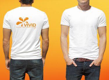 Vivid T Shirt Mock